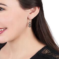 Boucles D'oreilles Pendantes Alicia Argent Blanc Céramique - Boucles d'oreilles Pendantes Femme | Marc Orian