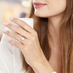 Bague Myriama Plaque Or Jaune Oxyde De Zirconium - Bagues Solitaire Femme | Marc Orian