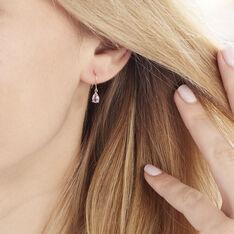 Boucles D'oreilles Or Jaune Kalyne Amethyste - Boucles d'oreilles Pendantes Femme | Marc Orian