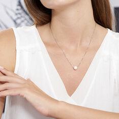 Collier Rada Maille Venitienne Argent Blanc Perle De Culture - Colliers Femme | Marc Orian