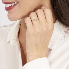 Bague Or Jaune Delphine Diamants - Parure de mariage Femme | Marc Orian