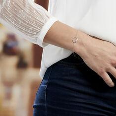 Bracelet Anas Argent Blanc Oxyde De Zirconium - Bracelets chaînes Femme   Marc Orian