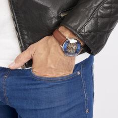 Montre Pierre Lannier Collection Week-end Bleu - Montres automatique Homme   Marc Orian