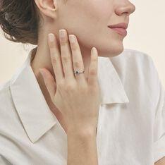 Bague Cassie Or Blanc Saphir Et Diamant - Bagues Solitaire Femme | Marc Orian