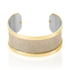 Bracelet Jonc Guilia Acier Dore - Bracelets jonc Femme   Marc Orian