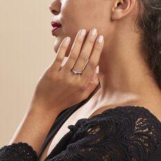 Bague Solitaire Alexandra Or Blanc Diamant - Bagues Solitaire Femme   Marc Orian
