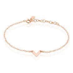 Bracelet Veroniica Argent Rose - Bracelets chaînes Femme | Marc Orian