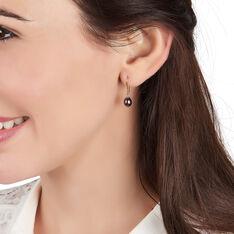 Boucles D'oreilles Pendantes Severiane Or Jaune Perle De Culture - Boucles d'oreilles Pendantes Femme   Marc Orian