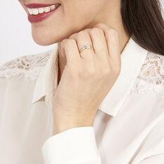 Bague Lisella Or Bicolore Diamant - Bagues Femme | Marc Orian