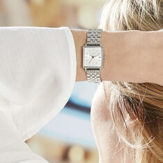 Montre Rosefield The Mini Boxy Blanc - Montres Femme | Marc Orian