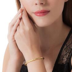Bracelet Jonc Jennie Diamante Or Jaune - Bracelets jonc Femme   Marc Orian