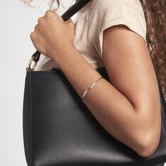 Bracelet Jonc Djena Argent Blanc Oxyde De Zirconium - Bracelets fantaisie Femme | Marc Orian