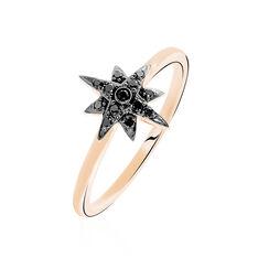 Bague Laetia Or Rose Diamant - Bagues Femme   Marc Orian