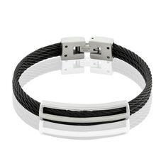 Bracelet Enrique Acier Blanc - Bracelets Homme | Marc Orian