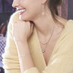 Bracelet Florenzia Argent Blanc Oxyde De Zirconium - Bracelets chaînes Femme | Marc Orian