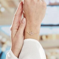 Bracelet Marineta Or Jaune Oxyde De Zirconium - Bracelets chaînes Femme   Marc Orian