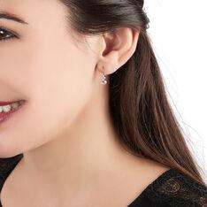 Boucles D'oreilles Pendantes Gulbeyaz Or Jaune Oxyde De Zirconium - Boucles d'oreilles Pendantes Femme   Marc Orian