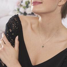 Collier Sagesse Or Jaune Emeraude Et Diamant - Colliers Femme | Marc Orian