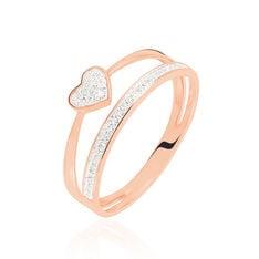 Bague Fenella Or Rose Diamant - Bagues Femme   Marc Orian