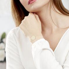 Bracelet Pastille Gravable Or Jaune - Bracelets chaînes Femme | Marc Orian