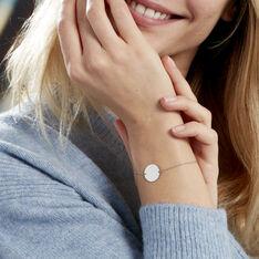 Bracelet Salematou Argent Blanc - Bracelets chaînes Femme | Marc Orian