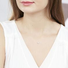 Collier Argent Rhodie Fil De Nylon Oxyde - Colliers Femme | Marc Orian