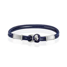 Bracelet Sylvain Acier Blanc - Bracelets cordons Homme   Marc Orian