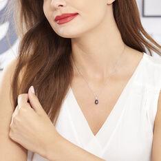Collier Sara-luna Argent Blanc Perle De Culture Et Oxyde De Zirconium - Colliers Femme | Marc Orian