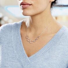 Collier Adjara Argent Blanc Oxyde De Zirconium - Colliers Femme | Marc Orian