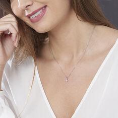 Collier Domitia Or Blanc Diamant - Colliers Femme | Marc Orian