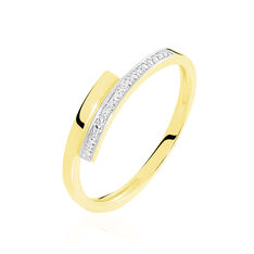 Bague Abigaelle Or Jaune Diamant - Bagues Femme   Marc Orian
