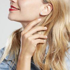 Boucles D'oreilles Puces Justina Argent Blanc Oxyde De Zirconium - Clous d'oreilles Femme | Marc Orian
