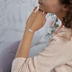 Bracelet Violka Argent Blanc - Bracelets chaînes Femme | Marc Orian