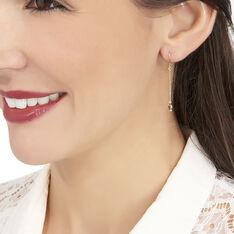 Boucles D'oreilles Pendantes Arenale Or Jaune Amethyste - Boucles d'oreilles Pendantes Femme | Marc Orian