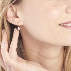 Boucles D'oreilles Pendantes Hedel Or Jaune Topaze - Boucles d'oreilles Pendantes Femme | Marc Orian