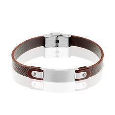 Bracelet Caesar Acier Blanc - Bracelets Homme   Marc Orian