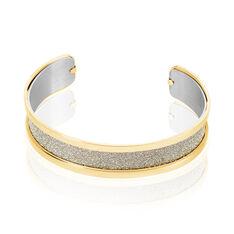 Bracelet Jonc Acier Jaune - Bracelets jonc Femme   Marc Orian