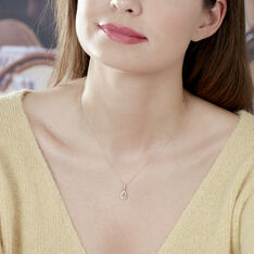 Collier Alice Or Rose Morganite Et Diamant - Colliers Femme | Marc Orian