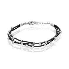 Bracelet Jonc Imagine Florette Acier Blanc - Bracelets jonc Femme   Marc Orian