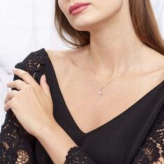 Collier Norine Argent Blanc Oxyde De Zirconium - Colliers Femme | Marc Orian