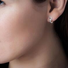 Boucles D'oreilles Puces Chacha Or Jaune Diamant - Clous d'oreilles Femme | Marc Orian