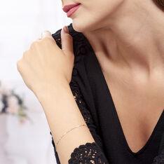 Bracelet Peyronne Or Bicolore - Bracelets chaînes Femme   Marc Orian