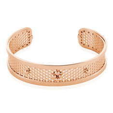 Bracelet Jonc Auda Acier Rose - Bracelets jonc Femme | Marc Orian