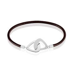 Bracelet Lenzo Argent Blanc - Bracelets fantaisie Homme | Marc Orian