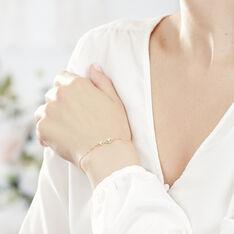 Bracelet Or Jaune Infini Et Oxydes - Bracelets chaînes Femme | Marc Orian