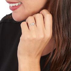Bague Jone Or Blanc Diamant - Parure de mariage Femme   Marc Orian