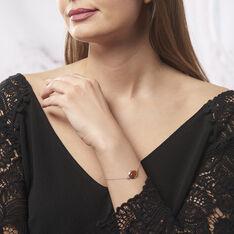 Bracelet Argent Goutte Ambre - Bracelets chaînes Femme | Marc Orian