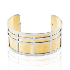 Jonc Andria Acier Rectangulaires - Bracelets jonc Femme   Marc Orian
