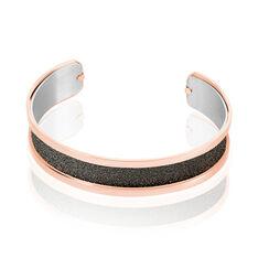 Bracelet Jonc Acier Rose - Bracelets jonc Femme | Marc Orian