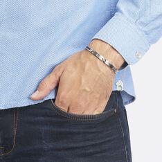 Bracelet Patrick Acier Blanc - Bracelets Homme | Marc Orian